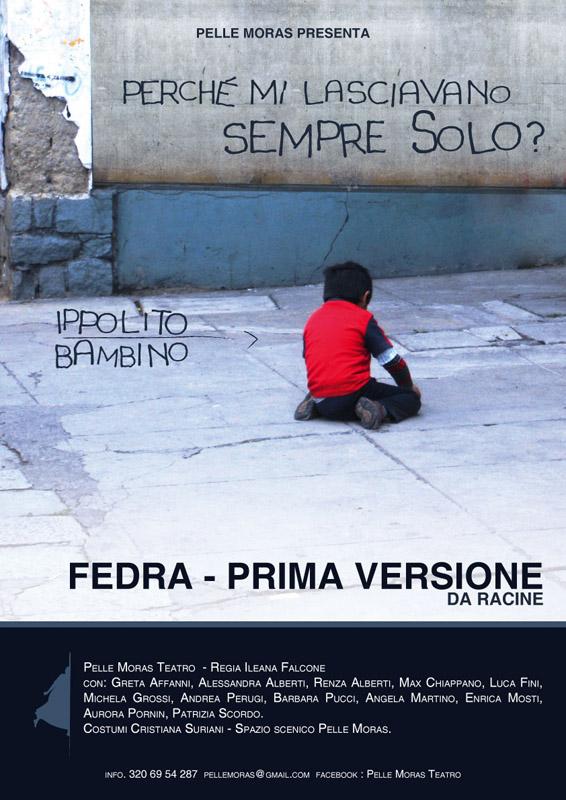 """Pelle Moras in """"Fedra – prima versione"""""""