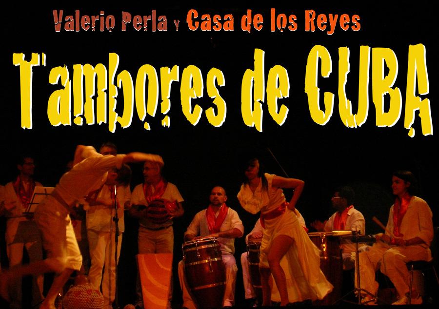 """Agrupacion de rumba """"La casa de los Reyes"""" in concerto"""